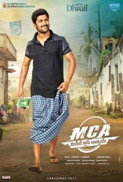 MCA (Middle Class Abbayi) poster