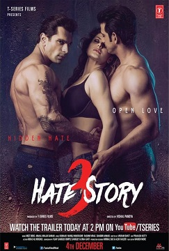 Hate Story 3 poster
