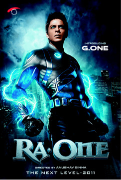 Ra.One poster