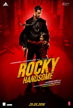 Rocky Handsome poster