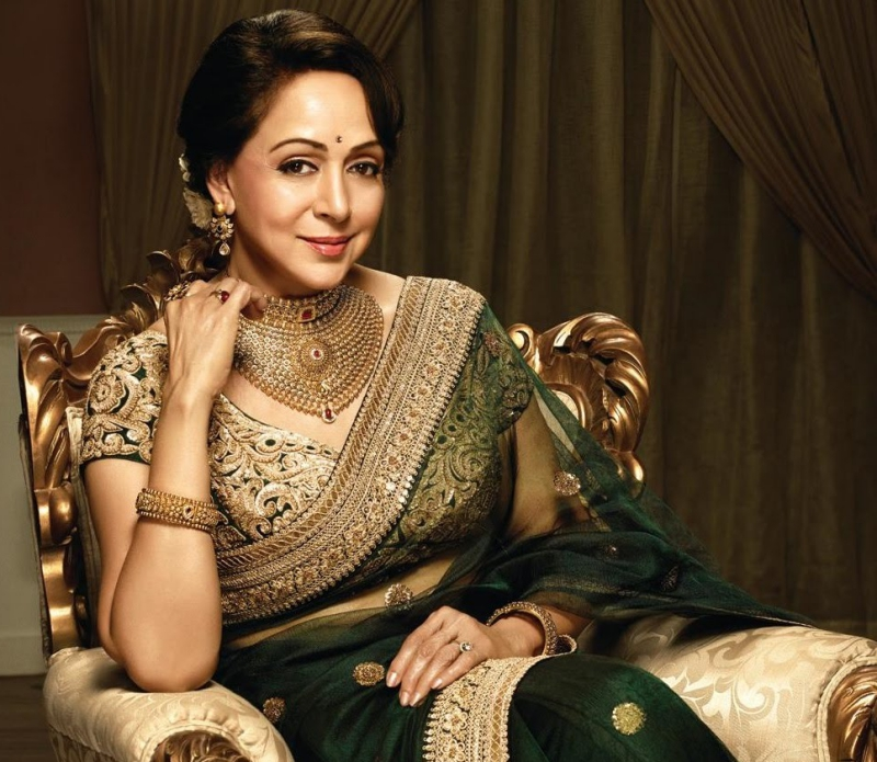 Image result for latest images of hema malini